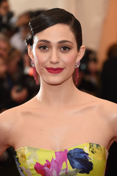 Emmy+Rossum+Chandelier+Necklaces vca
