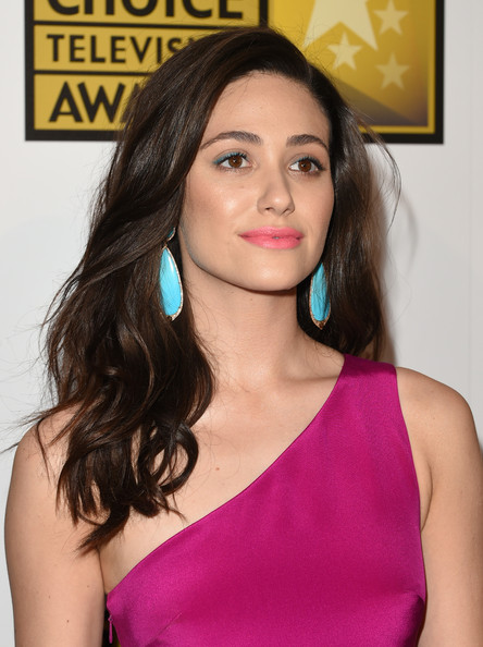 Emmy+Rossum+Dangle+Earrings+Dangling+Turquiose sutra