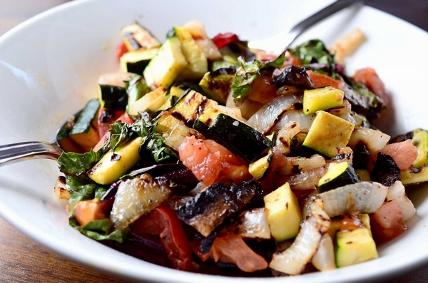 Grilled-vegetable-salad