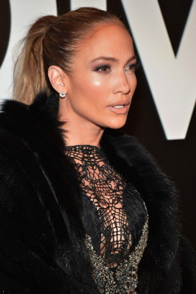 JLO at Tom Ford Fall 2015 Front Row