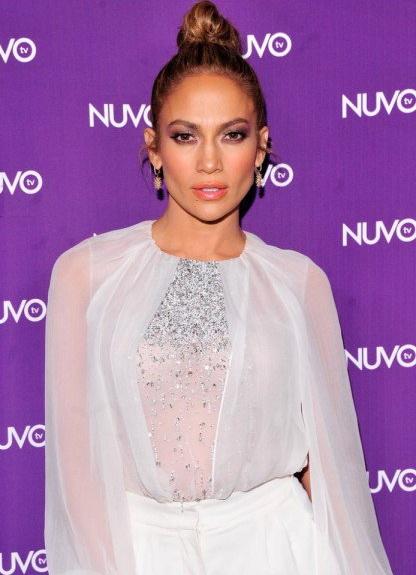 Jennifer Lopez at NUVOtv's 2014 Upfront in NYC