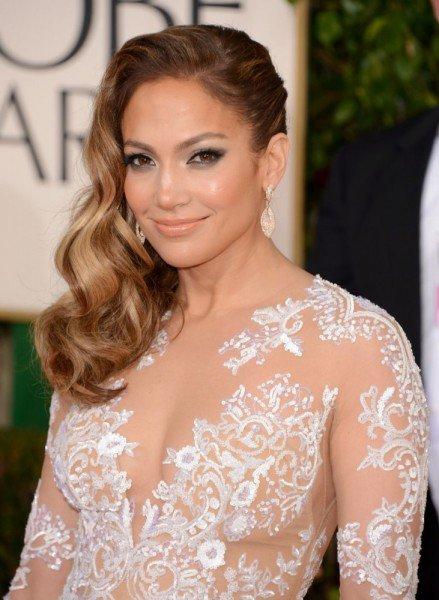 Jennifer Lopez at the 2013 Golden Globe Awards