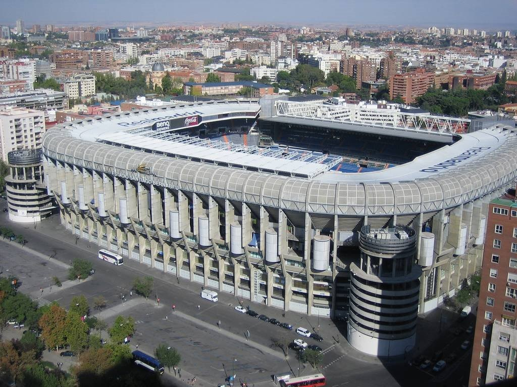 Madrid Estadio Santiago Barnabeu