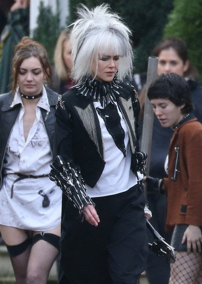 Exclusive... Nicole Kidman Goes Punk Rock For 'How To Talk To Girls At Parties' - NO INTERNET USE WITHOUT PRIOR AGREEMENT