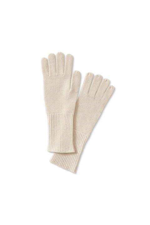 Plaited Cashmere Glove