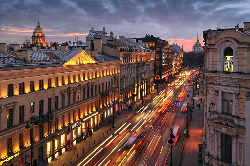 Saint Petersberg Nevsky Prospect