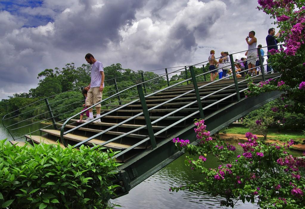 Sao Paolo Brazil Parque Ibirapuera