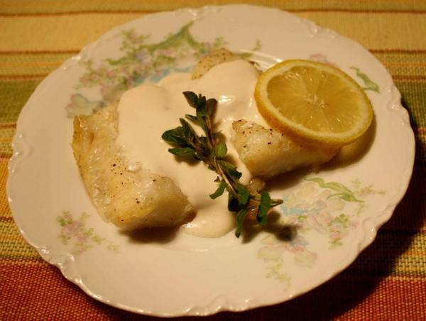 White-fish-sauce