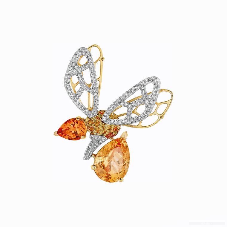 chaumet_abeille_orange_tourmaline_and_hessonite_garnet_brooch
