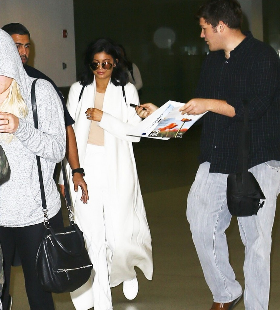 Kylie Jenner Touches Down In Miami