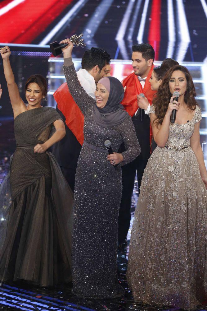 resized_MBC1 & MBC MASR the Voice S3 - Finale - winner Nidaa Charara & Sherine Abdelwahab
