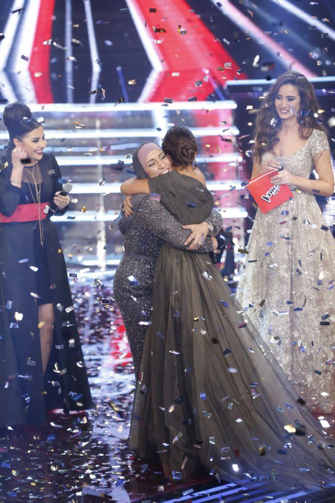 resized_MBC1 & MBC MASR the Voice S3 - Finale - winning moment Nidaa Charara