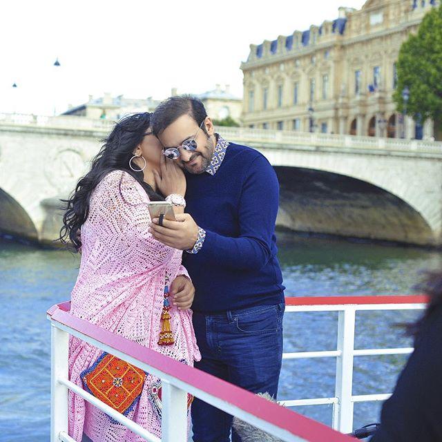أحلام مع زوجها في صور رومانسية  (3)
