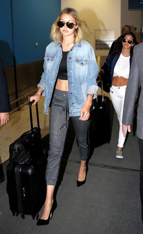 Gigi Hadid Arrives In Sydney