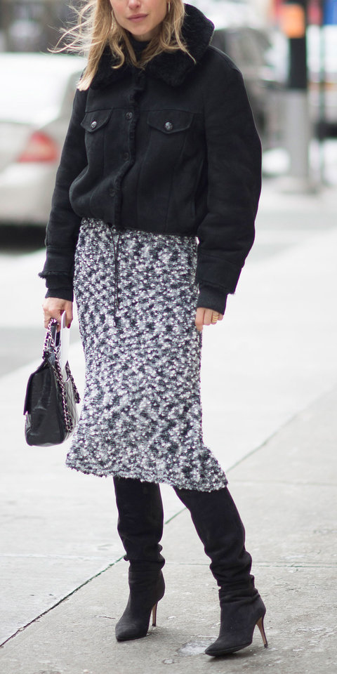 Street Style - Day 5 - New York Fashion Week Fall 2015