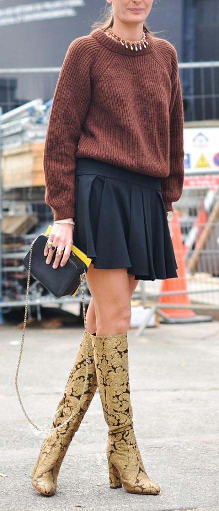 Day 9 - Street Style - Paris Fashion Week - Womenswear Fall/Winter 2015/2016
