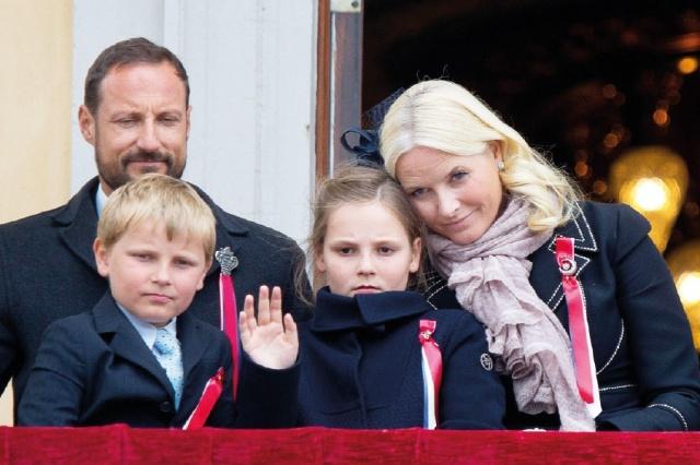 العائلة الملكية النروجية