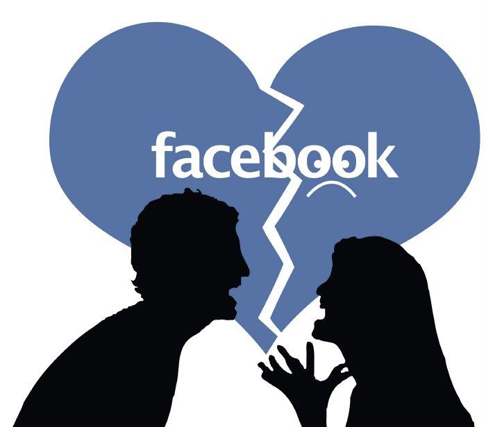 طلاق فيسبوك