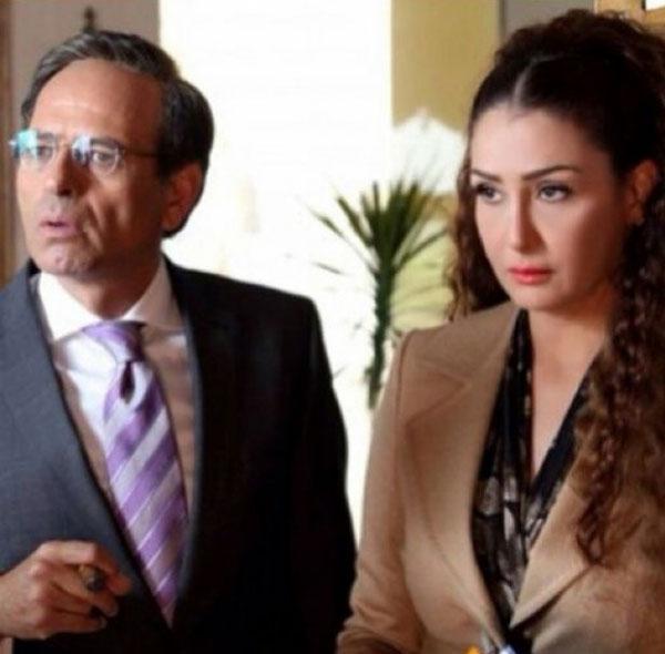 غادة عبدالرازق بمشهد تمثيلي مع ممدوح عبدالعليم