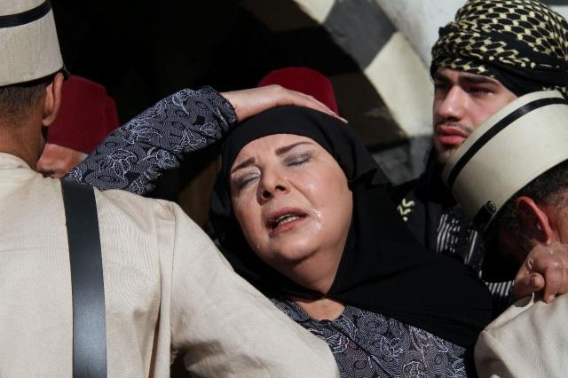 نجمات بالملاية الشامية (11)