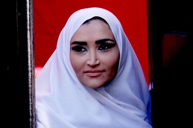 نجمات بالملاية الشامية (14)