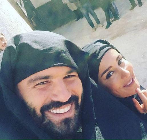 نجمات بالملاية الشامية (15)