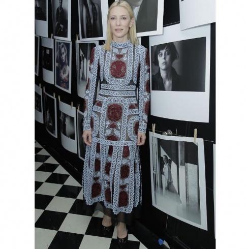 Cate Blanchett wears ERDEMLondon
