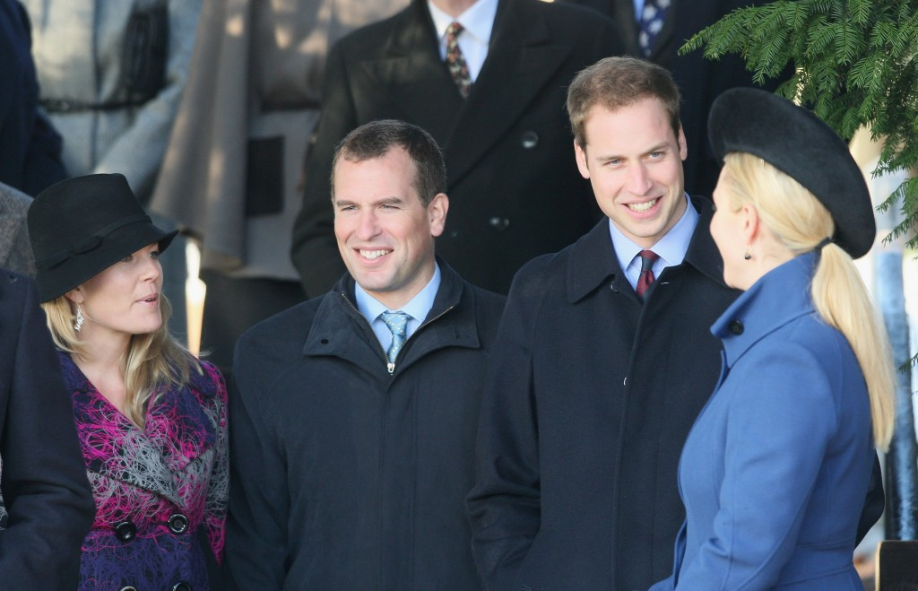Royals Attend Christmas Day Service At Sandringham