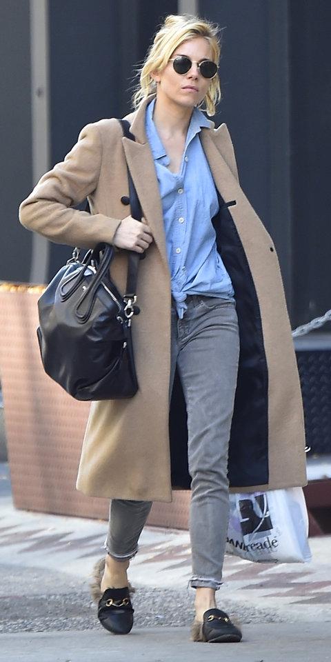 Celebrity Sightings In New York City - November 09, 2015