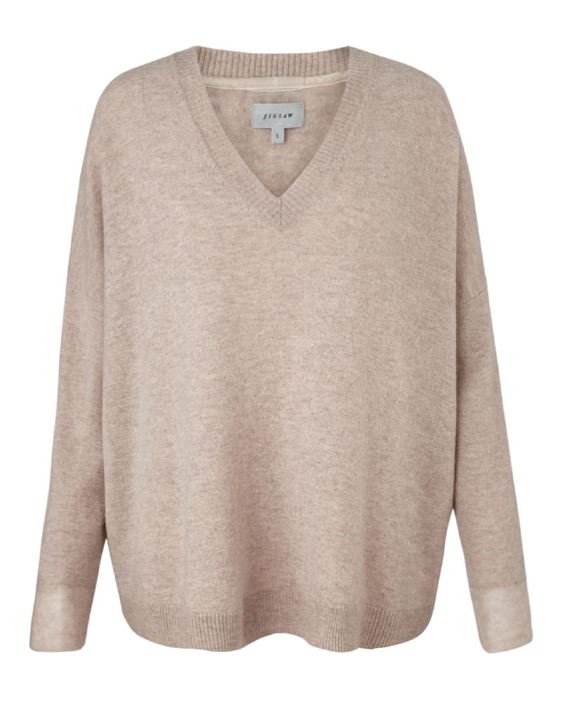 resized_CASHMERE BRIGITTE V SWEATER 985 AED