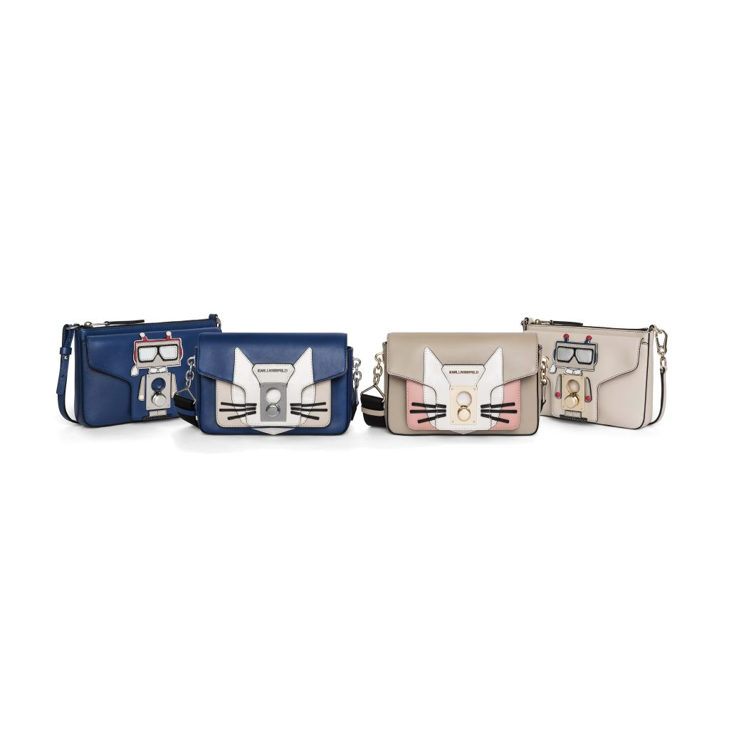 resized_K pin closure shoulderbag cat - K pin closure pochette robot