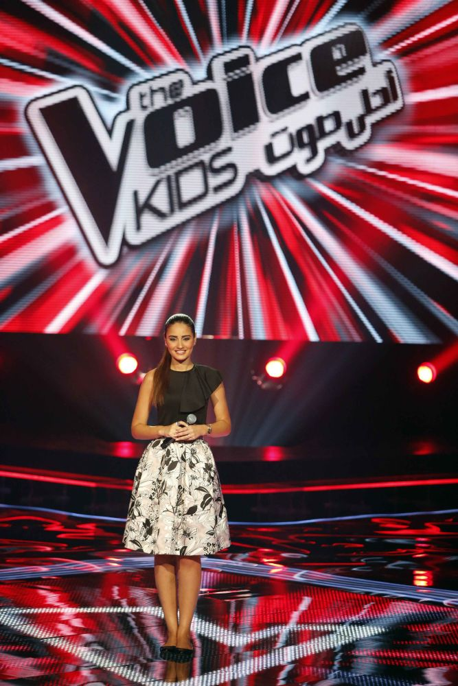 resized_MBC1 & MBC MASR - the Voice Kids - Blind Auditions - Aimee Sayyah