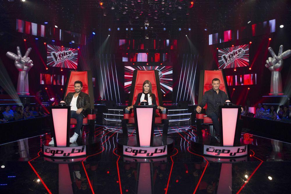 resized_MBC1 & MBC MASR- the Voice Kids - Blind Auditions - Coaches