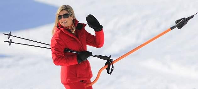 الملكة ماكسيما تذهب لقضاء عطلتها الشتوية في النمسا  (1)