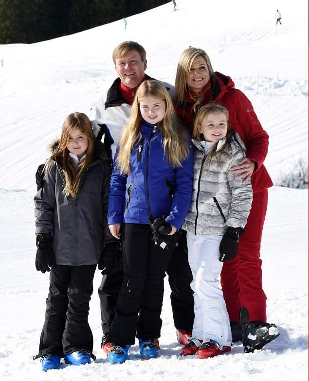الملكة ماكسيما تذهب لقضاء عطلتها الشتوية في النمسا  (10)
