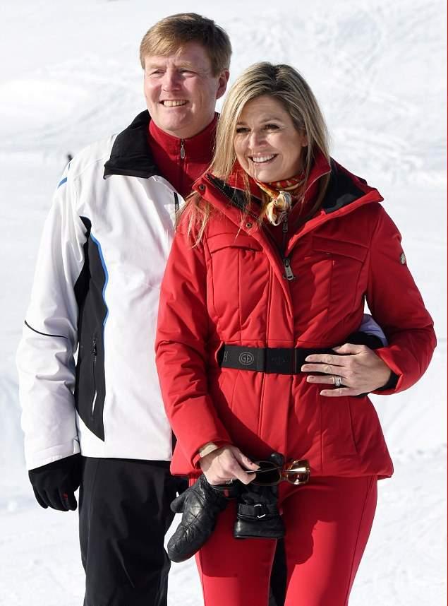 الملكة ماكسيما تذهب لقضاء عطلتها الشتوية في النمسا  (11)