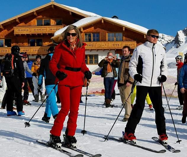الملكة ماكسيما تذهب لقضاء عطلتها الشتوية في النمسا  (12)