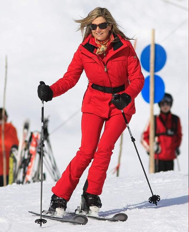 الملكة ماكسيما تذهب لقضاء عطلتها الشتوية في النمسا  (13)