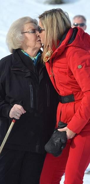 الملكة ماكسيما تذهب لقضاء عطلتها الشتوية في النمسا  (14)