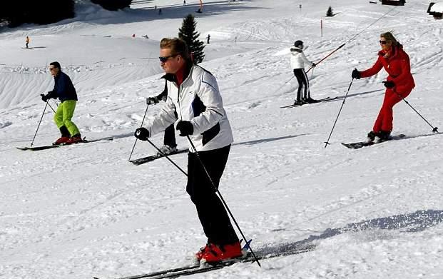 الملكة ماكسيما تذهب لقضاء عطلتها الشتوية في النمسا  (17)