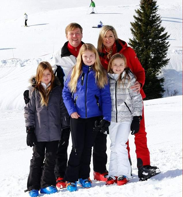 الملكة ماكسيما تذهب لقضاء عطلتها الشتوية في النمسا  (2)