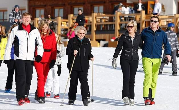 الملكة ماكسيما تذهب لقضاء عطلتها الشتوية في النمسا  (3)