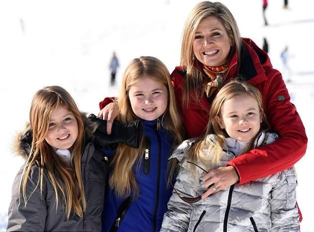 الملكة ماكسيما تذهب لقضاء عطلتها الشتوية في النمسا  (4)