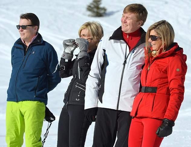 الملكة ماكسيما تذهب لقضاء عطلتها الشتوية في النمسا  (5)