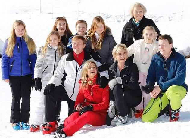 الملكة ماكسيما تذهب لقضاء عطلتها الشتوية في النمسا  (6)