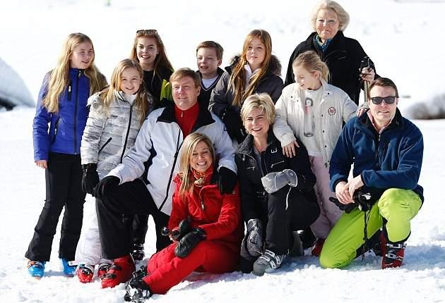 الملكة ماكسيما تذهب لقضاء عطلتها الشتوية في النمسا  (7)