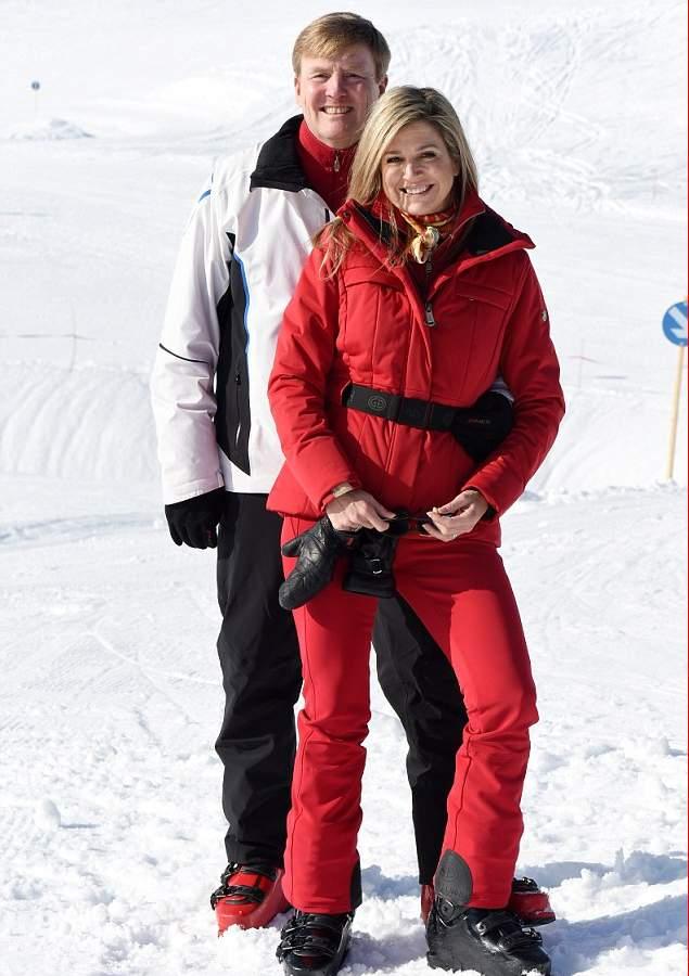 الملكة ماكسيما تذهب لقضاء عطلتها الشتوية في النمسا  (9)