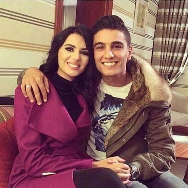 لينا قيشاوي مع محمد عساف