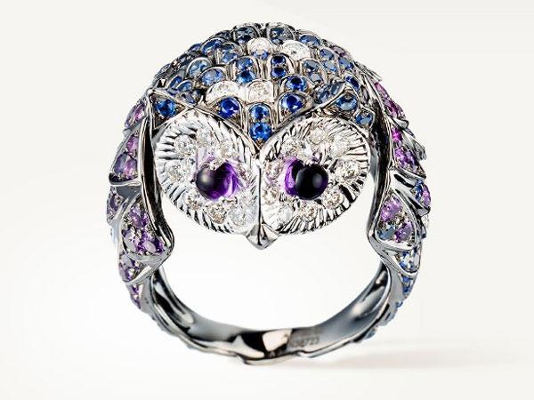 مجوهرات المستوحاة من أشكال الطيور  (4)