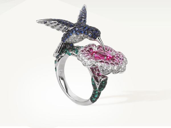 مجوهرات المستوحاة من أشكال الطيور  (9)